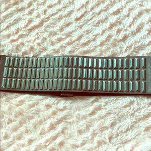 Gunmetal waist belt